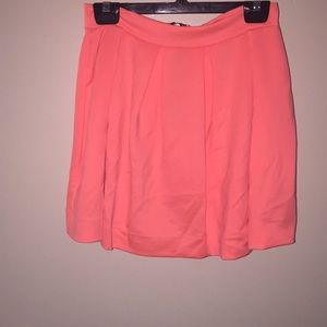 Honey lunch neon coral skirt never worn